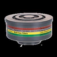ABEK1 Gas Filter Speciale Schroefdraadbevestiging