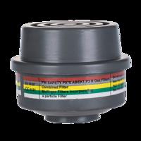 ABEK1P3 Combinatie Filter met speciale draadbevestiging