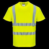 Katoen comfort T-shirt met korte mouw