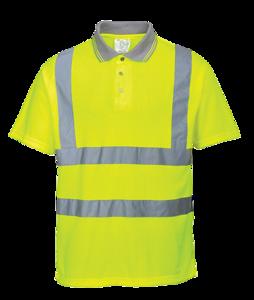 Hi-Vis Rib Poloshirt