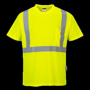 Hi-Vis T-shirt met borstzak